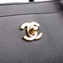 Authentic Second Hand Chanel Petite Cerf Tote (PSS-A51-00001) - Thumbnail 4