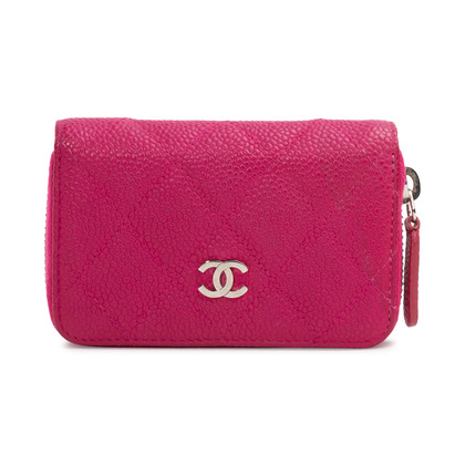 Authentic Second Hand Chanel Classic Zipped Coin Purse (PSS-A56-00001)