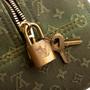 Authentic Second Hand Louis Vuitton Deauville Monogram Bag (PSS-004-00130) - Thumbnail 9