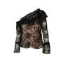 Authentic Second Hand Nicholas Rosie Lace One Shoulder Top (PSS-200-01977) - Thumbnail 0
