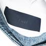 Authentic Second Hand Juun. J Denim Trim Cotton Top (PSS-200-01982) - Thumbnail 2