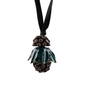 Authentic Second Hand Marni Metal Flower Crystal Necklace (PSS-393-00101) - Thumbnail 1