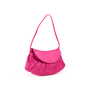 Authentic Second Hand Céline Pink Satin Bag (PSS-619-00010) - Thumbnail 1