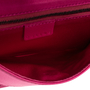 Authentic Second Hand Céline Pink Satin Bag (PSS-619-00010) - Thumbnail 6