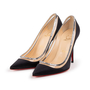 Authentic Second Hand Christian Louboutin Paulina Satin Crystal Pumps (PSS-A53-00001) - Thumbnail 3
