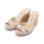 Authentic Second Hand Jimmy Choo Almer Espadrille Wedge (PSS-A53-00003) - Thumbnail 3