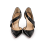 Authentic Second Hand Christian Louboutin Ograde Cross Strap Pumps (PSS-A53-00007) - Thumbnail 0