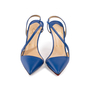 Authentic Second Hand Christian Louboutin June 100 Slingback Pumps (PSS-A53-00008) - Thumbnail 0