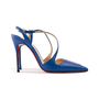 Authentic Second Hand Christian Louboutin June 100 Slingback Pumps (PSS-A53-00008) - Thumbnail 1