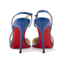 Authentic Second Hand Christian Louboutin June 100 Slingback Pumps (PSS-A53-00008) - Thumbnail 2