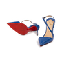 Authentic Second Hand Christian Louboutin June 100 Slingback Pumps (PSS-A53-00008) - Thumbnail 4