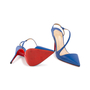 Authentic Second Hand Christian Louboutin June 100 Slingback Pumps (PSS-A53-00008) - Thumbnail 5