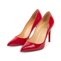 Authentic Second Hand Christian Louboutin Pigalle 100 Patent Pumps (PSS-A53-00009) - Thumbnail 3
