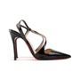 Authentic Second Hand Christian Louboutin June 100 Slingback Pumps (PSS-A53-00011) - Thumbnail 1