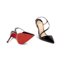 Authentic Second Hand Christian Louboutin June 100 Slingback Pumps (PSS-A53-00011) - Thumbnail 5