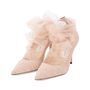 Authentic Second Hand Jimmy Choo Lavish Tulle Pumps (PSS-059-00097) - Thumbnail 3