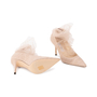 Authentic Second Hand Jimmy Choo Lavish Tulle Pumps (PSS-059-00097) - Thumbnail 5