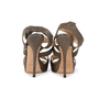 Authentic Second Hand Jimmy Choo Stingray Embossed Sandals (PSS-A62-00005) - Thumbnail 2