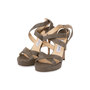 Authentic Second Hand Jimmy Choo Stingray Embossed Sandals (PSS-A62-00005) - Thumbnail 3