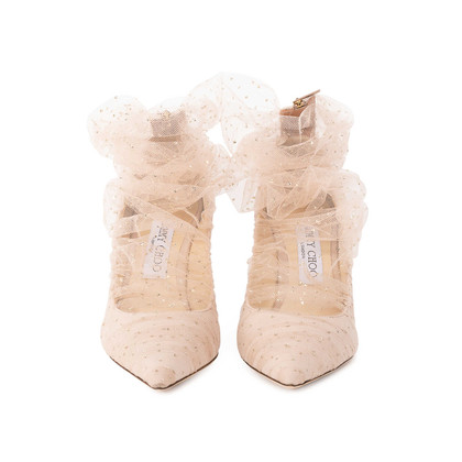 Authentic Second Hand Jimmy Choo Lavish Tulle Pumps (PSS-059-00097)