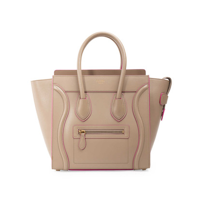 Authentic Second Hand Céline Micro Luggage Bag (PSS-A45-00002)