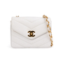 Authentic Second Hand Chanel Chevron Quilt Envelope Flap Bag (PSS-A32-00035) - Thumbnail 0