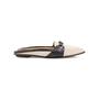 Authentic Second Hand Hermès Canvas Mules (PSS-A32-00076) - Thumbnail 1