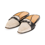 Authentic Second Hand Hermès Canvas Mules (PSS-A32-00076) - Thumbnail 3