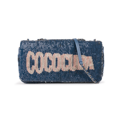 Authentic Second Hand Chanel Sequin Coco Cuba Bag (PSS-A60-00002)