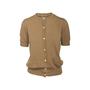 Authentic Second Hand Maison Kitsuné Cashmere Short Sleeve Cardigan (PSS-145-00406) - Thumbnail 0