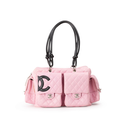 Authentic Second Hand Chanel Cambon Reporter Bag (PSS-606-00106)