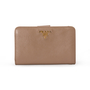 Authentic Second Hand Prada Saffiano Leather Wallet (PSS-A63-00002) - Thumbnail 0