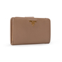 Authentic Second Hand Prada Saffiano Leather Wallet (PSS-A63-00002) - Thumbnail 1