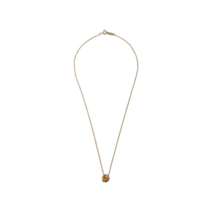 Authentic Second Hand Tiffany & Co Knot Pendant Necklace (PSS-A38-00028)