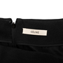 Authentic Second Hand Céline Wool High Low Skirt (PSS-990-00537) - Thumbnail 3