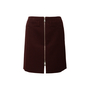Authentic Second Hand Louis Vuitton Wool Zip Front Skirt (PSS-990-00541) - Thumbnail 0