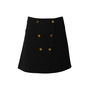 Authentic Second Hand Louis Vuitton Wool and Silk Button Skirt (PSS-990-00544) - Thumbnail 0