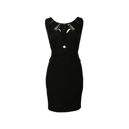Authentic Second Hand Gucci Cut Out Crystal Front Dress (PSS-990-00550)