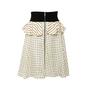 Authentic Second Hand Louis Vuitton Silk Polka Dot Peplum Skirt (PSS-990-00540) - Thumbnail 0