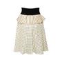 Authentic Second Hand Louis Vuitton Silk Polka Dot Peplum Skirt (PSS-990-00540) - Thumbnail 1
