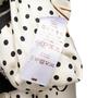 Authentic Second Hand Louis Vuitton Silk Polka Dot Peplum Skirt (PSS-990-00540) - Thumbnail 5