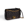 Authentic Second Hand Chanel Retro Clasp Flap Bag (PSS-114-00039) - Thumbnail 1