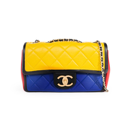 Authentic Second Hand Chanel Small Graphic Flap Bag (PSS-114-00044)