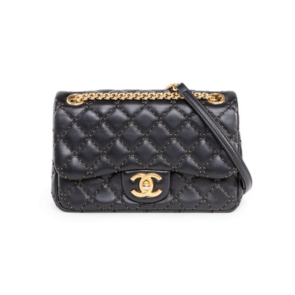 Authentic Second Hand Chanel Embroidered Mini Flap Bag (PSS-114-00043)