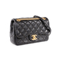 Authentic Second Hand Chanel Embroidered Mini Flap Bag (PSS-114-00043) - Thumbnail 1