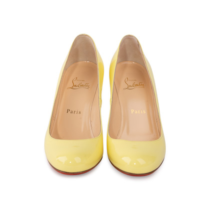 Authentic Second Hand Christian Louboutin Fifi 85 Patent Pumps (PSS-114-00037)