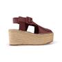 Authentic Second Hand Céline Platform Esapdrille Sandals (PSS-561-00077) - Thumbnail 1