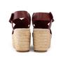 Authentic Second Hand Céline Platform Esapdrille Sandals (PSS-561-00077) - Thumbnail 3