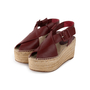 Authentic Second Hand Céline Platform Esapdrille Sandals (PSS-561-00077) - Thumbnail 2