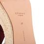 Authentic Second Hand Céline Platform Esapdrille Sandals (PSS-561-00077) - Thumbnail 6